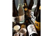 九州といえば焼酎! 種類豊富に取り揃え!プレミア焼酎もご用意しております!
