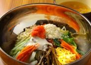 明太チーズビビンバ(スープ付き) ランチ650円(税込)
