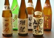 日本酒も串揚げに合います!