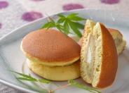 「さつま芋とクリームチーズのどらやき」250円