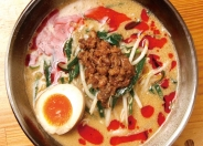 根強い人気の「味噌担々麺」