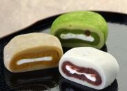 人気商品「生クリーム大福 禅」冷やして食べるとさらに美味しさがアップします。