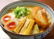 野菜煮込み豚骨らうめん950円(税別)