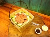 「Flapオリジナル 夏野菜入りそぼろ丼」950円税別