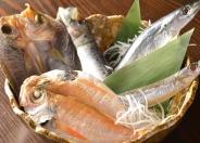 旬の鮮魚を浜焼きで