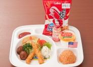 「お子様ランチ」(800円税別)お座敷もあり、お子様連れでも安心して利用できるね!