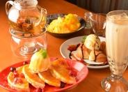 デザートまで台湾情緒溢れる品々。「台湾かき氷」「パートンコー」や珍しい「中国工芸茶」アジアの「ハーブティー」や「タピオカドリンク」などココでしか味わえない逸品ばかり♡