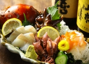 地元三河湾直送の新鮮な魚介類!
