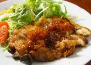 鶏の山賊焼き(数量限定) 1,180円(税別)