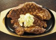 アンガス牛1ポンドステーキ