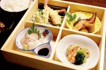 1日限定10食「松花堂ランチ」1,200円(税別)