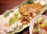 「牛すじ西京味噌カレー」980円(税別)
