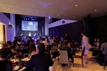 演奏会で盛り上がる宴会パーティーもおすすめ。通信カラオケも完備。音楽教室の発表会なども可能