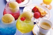 「プリンセスクリームソーダ」SNS映えにピッタリ♪自家製ケーキなどデザートも豊富