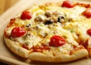 チーズたっぷりミックスピザ
