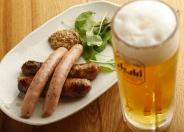 ビールが進むソーセージ2種