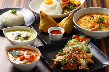 アジアン料理も豊富