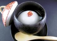 杏仁豆腐450円(税別)