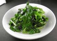 青菜炒め600円(税別)