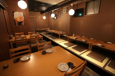 刈谷駅徒歩6分!ご宴会に最適な掘りごたつ席完備