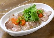テイクアウトのローストビーフ丼(500円)