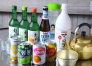 韓国のお酒も多数取り添え!