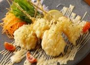 旬菜と肉厚エビマヨ 880円(税別)