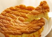 自家製のリコッタチーズを使ったチーズケーキは絶品!
