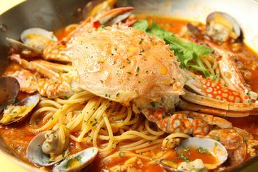 自慢のパスタ、ピザをはじめとした本格イタリアンが気軽に食べられるよ!