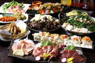 九州一周コース 5,000円(税込) 全4種類のコースは全て飲み放題付き!お得に楽しめます♪