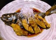 本日のお魚の煮つけ