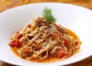 自家製のトマトソースとひき肉の相性が抜群なボロネーゼ