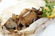 本日のお魚と木ノ子のカルトッチョ 自家製こうじ味噌で