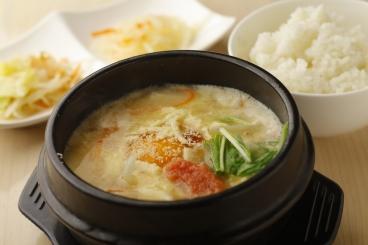 ★女性大人気★スンドゥブ 明太チーズ(ご飯、ナムル付)