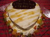 記念日用大人気のチーズケーキ