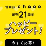 chaoo21周年プレゼント
